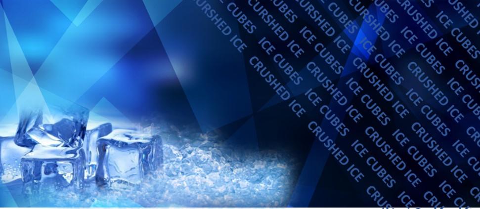 VOOR AL UW  IJSBLOKJES EN CRUSHED-ICE